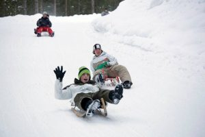 Rodeln Wintersportwoche