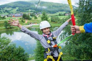 Hochseilgarten Schüler Sommersportwoche