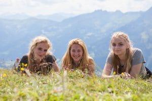 Schülerinnen Berg Sommersportwoche