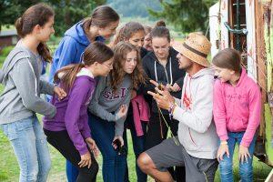 Teamarbeit Projektwoche Klassenfahrt