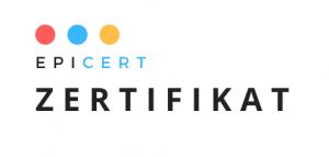 Logo Epicert Zertifikat